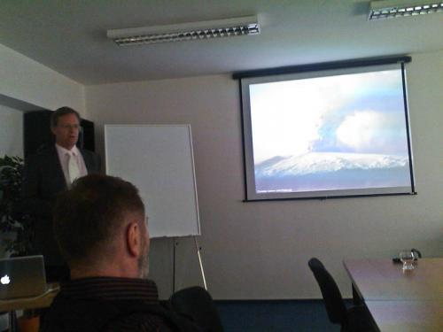 Prednáška Reto Gieré